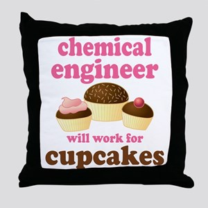 Funny Chemical Engineer Throw Pillow